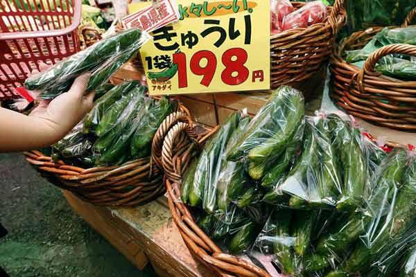 东京附近地区连续阴雨天气导致蔬菜价格上涨