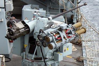 杀鸡焉用牛刀?英海军试验新型导弹对付恐怖分子