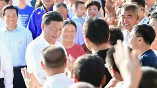 习近平:中国共产党永远为人民谋幸福