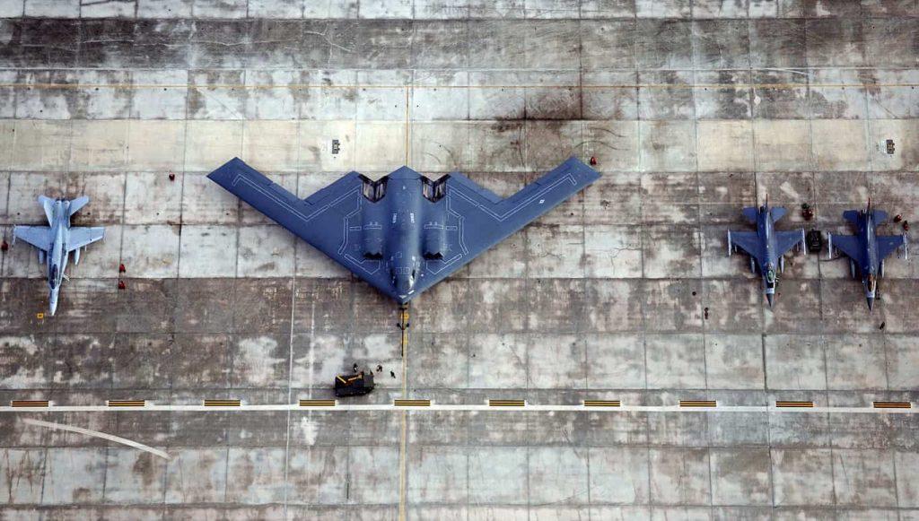 美纪念B2隐形轰炸机首飞30年 是南联盟炸馆元凶