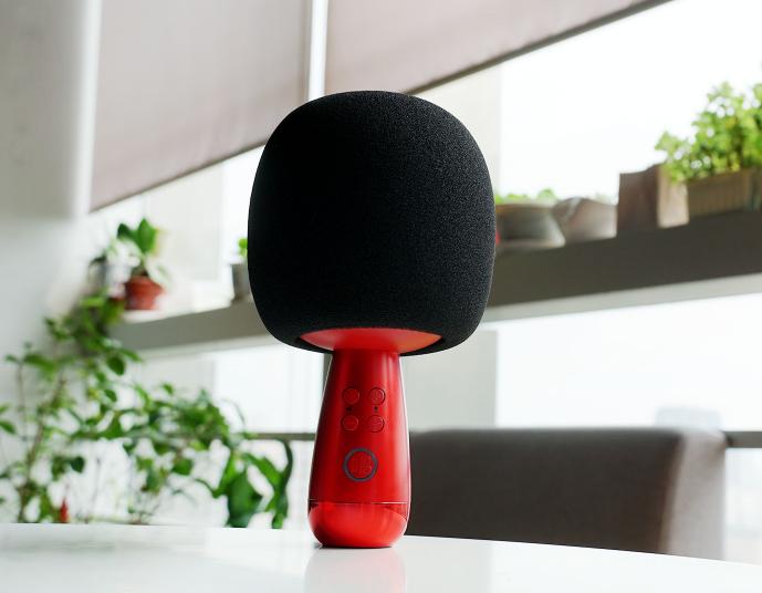 无线连麦+360度环绕 唱吧小巨蛋麦克风新品图赏