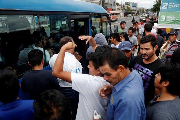 美国梦破碎!超过200名危地马拉移民被美国遣返回国