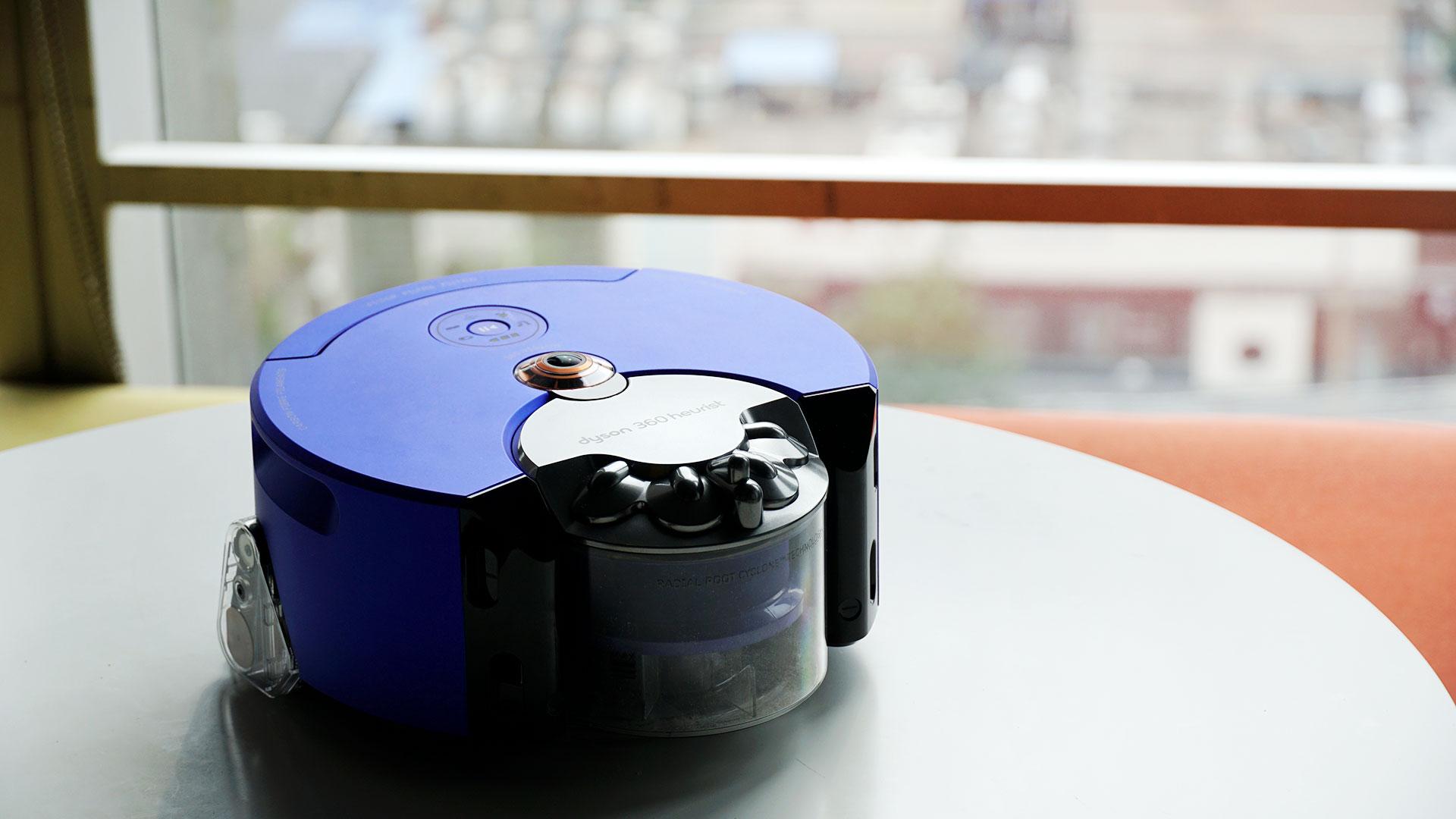 戴森360 heurist智能吸尘机器人(全新升级款)开箱