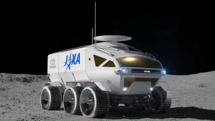 JAXA联手丰田打造燃料电池月球车 计划2029发射