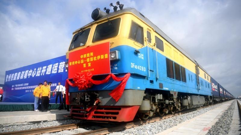 外媒:中国新丝路助德国老工业城华丽转身