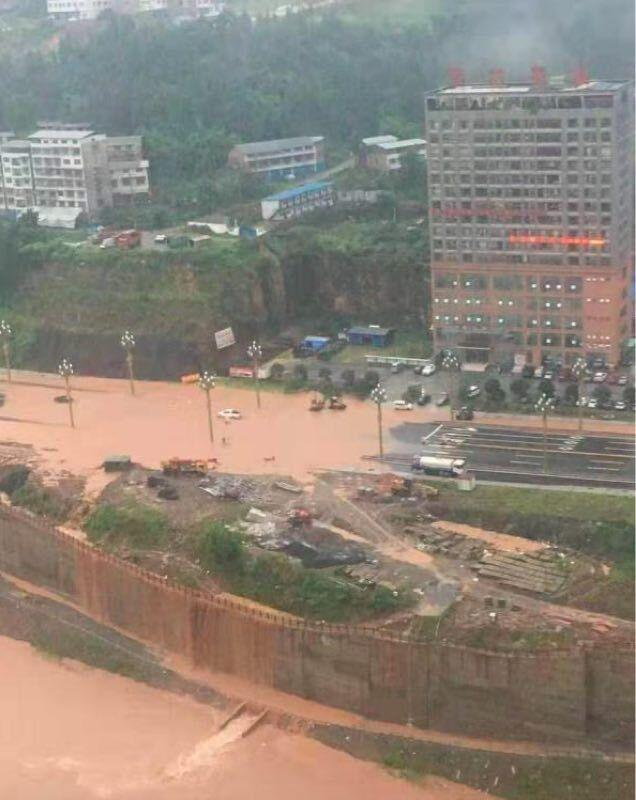 强降雨致四川巴中2.6余万人受灾 紧急转移安置群众8258人