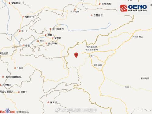 苏拉托之眼(韩国心爱颂中文歌词)新疆克孜勒苏州乌恰县发作3.0级地震 震源深度8千米