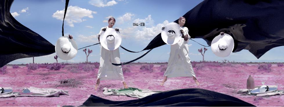来自洛杉矶的3D艺术家田咖喱,SUIYIDA的2019浪漫主义情怀