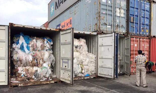 柬埔寨要将1600吨塑料垃圾送回美国加拿大:我们不是垃圾箱!