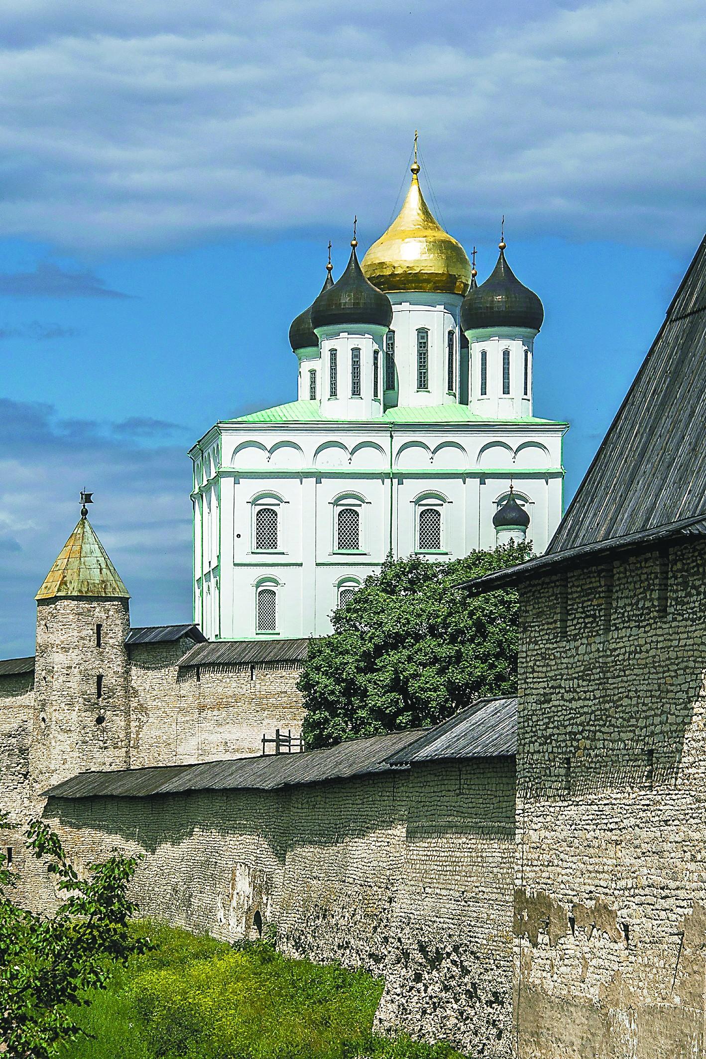 普斯科夫,俄罗斯文化的摇篮