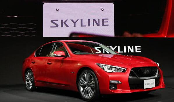 日产改进SKYLINE 部分实现高速公路自动驾驶