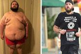 男子跑步21个月减重231斤 盼完成个人首马