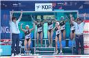 韩国女子水球队破零