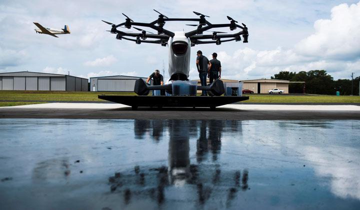 18旋翼!美国载人无人机要在25个城市推广