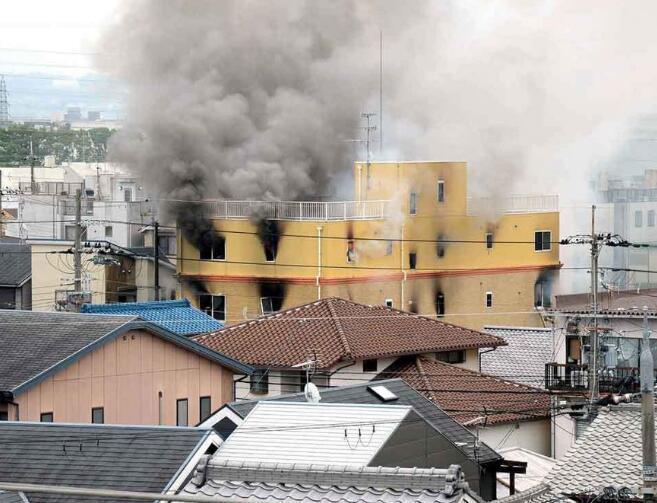日本京都火灾:已有12人心肺功能停止 或超10人遇难