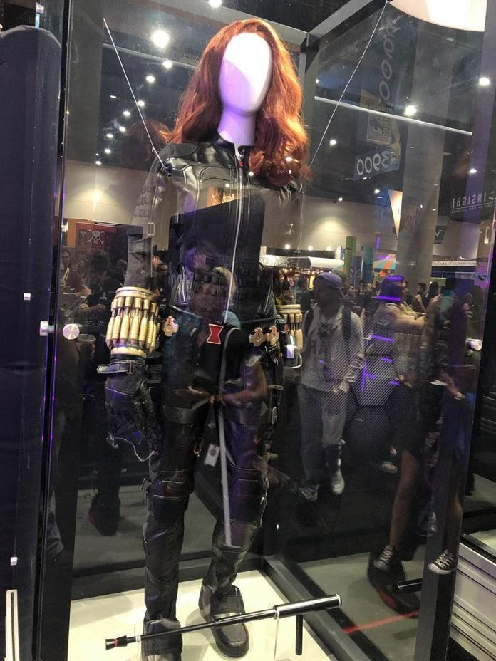 SE《漫威复仇者联盟》SDCC展出真人战衣