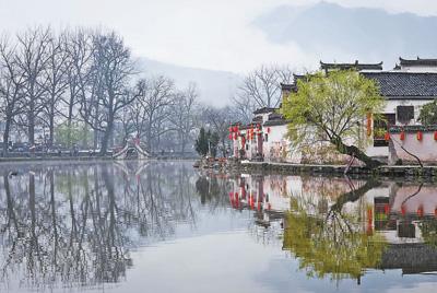 流淌的徽州记忆:千年古村落 游人风景区