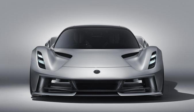 全球限量130台 路特斯发布Evija纯电动超跑