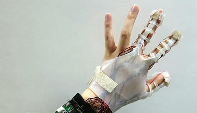 """韩国研制游戏专属手套 让玩家""""摸""""到虚拟物体"""
