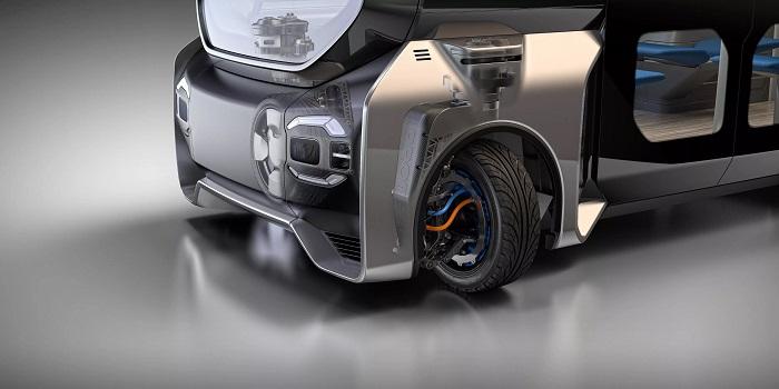 Protean Electric发明可360°转向模块化车轮套件