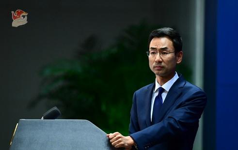 """蔡英文要""""庇护""""香港示威者?耿爽奉劝岛内某些人:你们自己还是泥菩萨呢"""