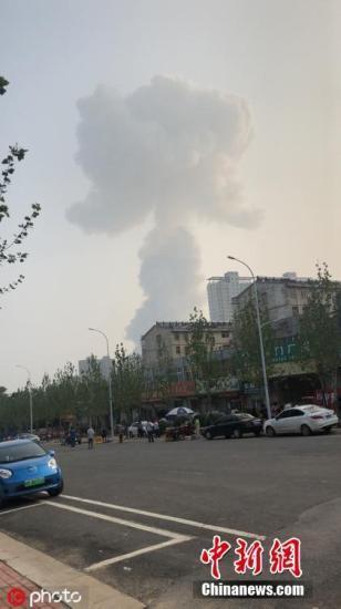 官方通报河南义马气化厂爆炸:暂无发现人员死亡