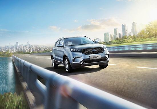 福特中国首款纯电动SUV领界EV开启预售