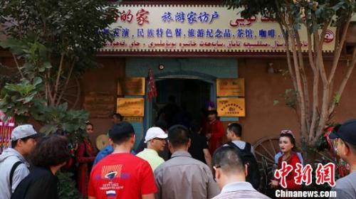 新疆喀什古城:搭乘旅游便车,创造更好生活