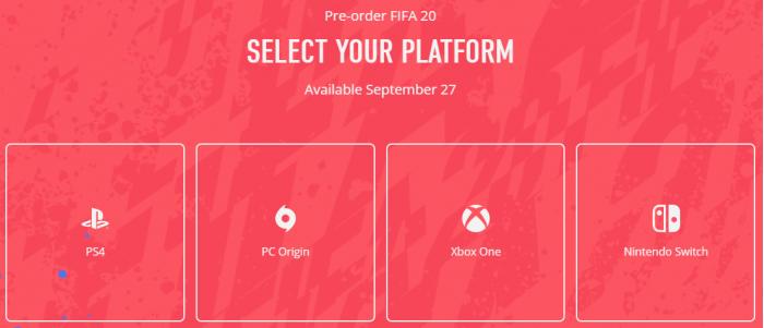 《FIFA 20》正式预告片公布 9月28日全球发售