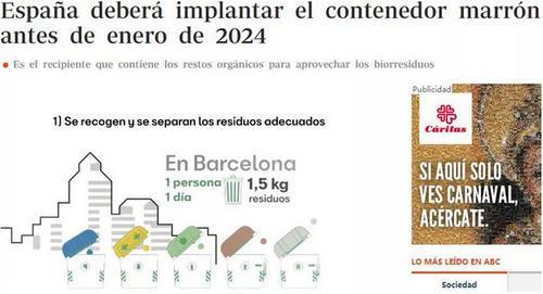 外媒:华人看过来,西班牙垃圾分类出新招