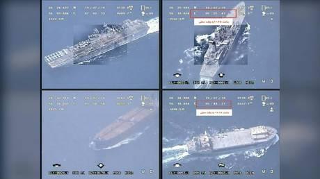 以牙还牙?伊朗扣押两艘与英国有关的油轮,还公布了一段视频...