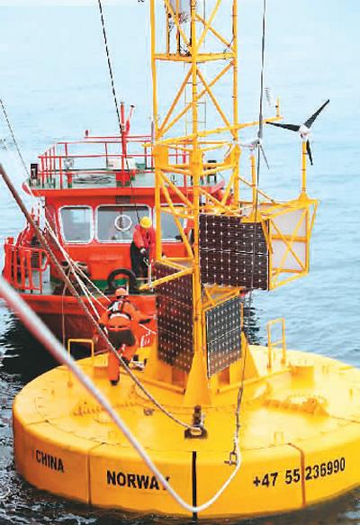 让台风飓风海啸无处遁形 中国打造全球海洋观测