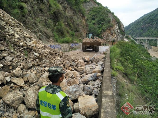云南发生泥石流致102人被困隧洞,已被全部救出
