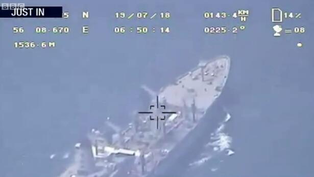 伊朗放出无人机视频反驳:未被美军舰击落