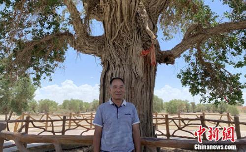 【新时代·幸福美丽新边疆】34年如一日,世界面积最大的胡杨林由他来守护!
