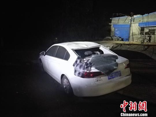 河南义马气化厂爆炸事故:46辆消防车参与救援