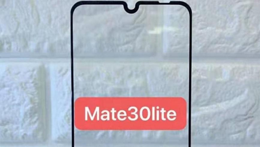 华为Mate 30 Lite曝光:或采用水滴屏方案