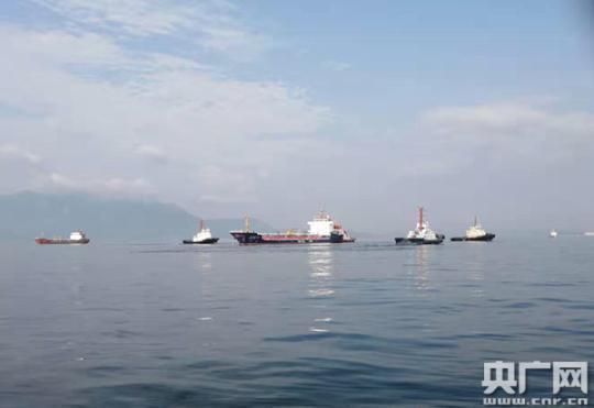 广东惠州海事局成功处置一起危货船失控险情