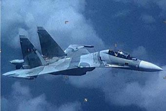 剑拔弩张:委内瑞拉苏-30战机拦截美EP-3侦察机
