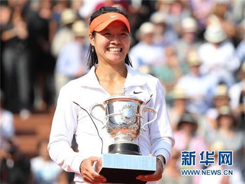 亚洲首位 李娜入驻网球名人堂