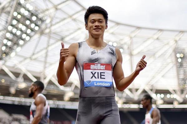 谢震业获得钻石联赛伦敦站男子200米冠军并打破亚洲纪录