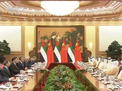独家视频丨习近平同阿联酋阿布扎比王储举行会谈