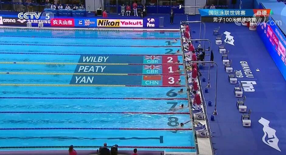 牛!闫子贝100米蛙泳再破亚洲纪录并获得铜牌