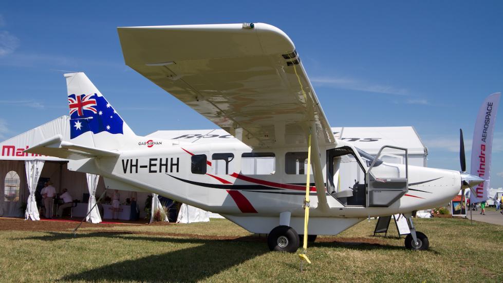 澳大利亚这家航空公司也遇麻烦!GA8型飞机全球停飞
