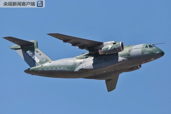 巴西研制的最大军用飞机KC-390进入最后测试阶段