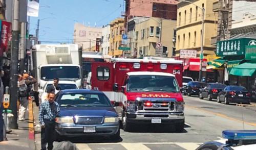 美媒:旧金山政府称华埠仍安全 华人却不认同