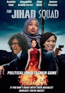 4名少数族裔女议员被P成电影海报主角,民主党人与共和党人又吵起来了!