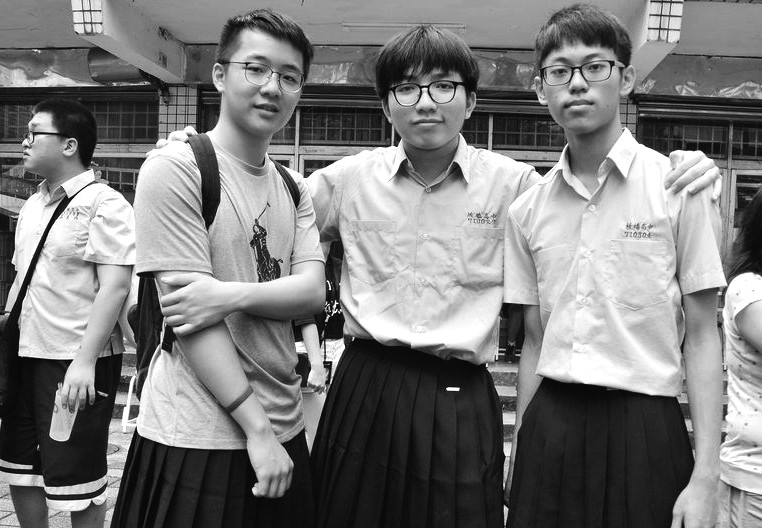岛内首次有高中允许男生穿裙子 尊重差异还是哗众取宠