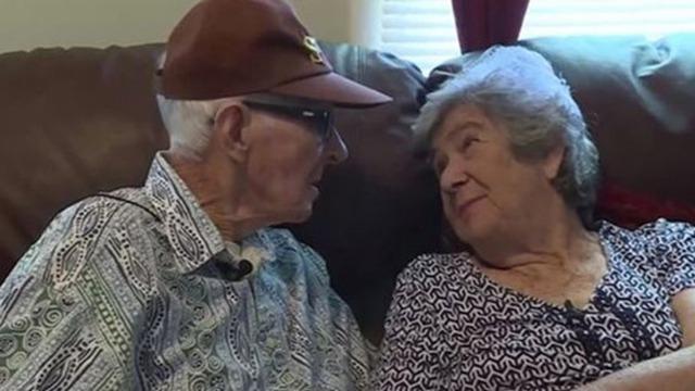 美国婚龄71年老夫妻同天去世 时间仅隔12小时