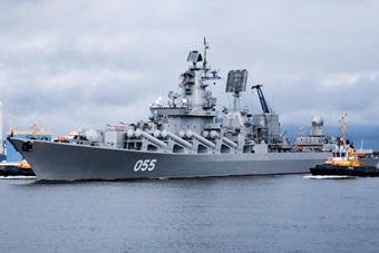 俄罗斯海军节阅兵阵容提前曝光 055舰来了!